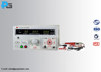 5KV High Voltage Dielectric Strength Test Equipment 0~100mA Leakage Current Comply To IEC60335-1